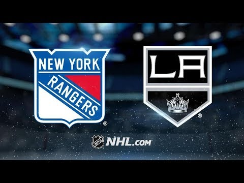 New York Rangers vs Los Angeles Kings – Oct.28, 2018 | Game Highlights | NHL 18/19 | Обзор матча