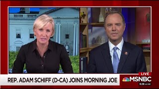 Rep. Schiff on Morning Joe: Trump's Policy on Russia is a Danger to our Nation