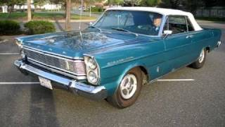 1965 Blue Ford Galaxie Convertible Walkaround