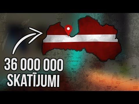 Populārākais video YouTube, kurā tika pieminēta Latvija