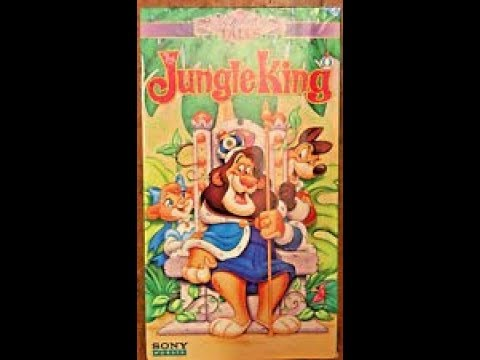 Doug Christmas Story Vhs.Opening To The Jungle King 1994 Vhs