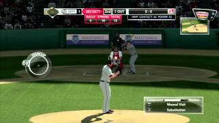 15 min z Major League Baseball 2K11 - PS3 gameplay z komentarzem by maxim