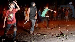 Bentrok, Aksi Warga Saling Serang Panah dan Lempar Batu di Makassar