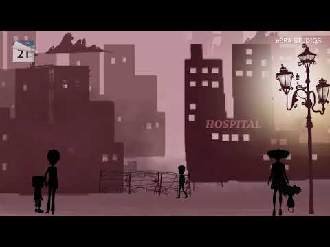 Covid 19 - Corona virus short animation film | stay at home|  eBRA Studios