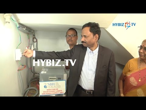 SBH Donates Solar Street Lights and Power Supply Unit to kasturba Gandhi National Memorial Trust