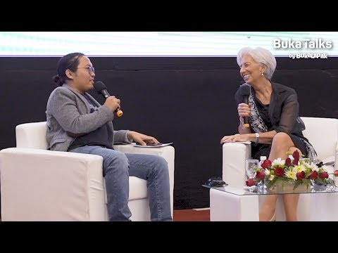 Achmad Zaky & Christine Lagarde - 2018 Youth Town Hall - The Future of Work | BukaTalks