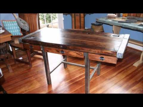 Nautical Furniture: Tables, Desks and Benches