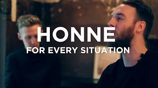 HONNE for every situation