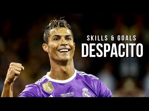 Cristiano Ronaldo - Despacito 2017    Skills   Goals   UEFA Best Player in Europe   HD