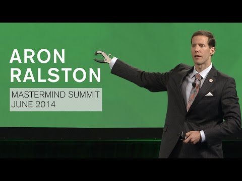 Aron Ralston, Mastermind Summit Speech, June 2014 - YouTube