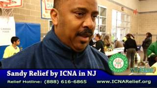 Atlantic City Mayor, Counselor and others thank ICNA Relief -Hurricane Sandy, ICNA Relief