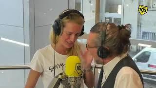 Elettra Lamborghini en la Radio105