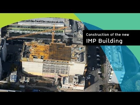 Construction of the new IMP building