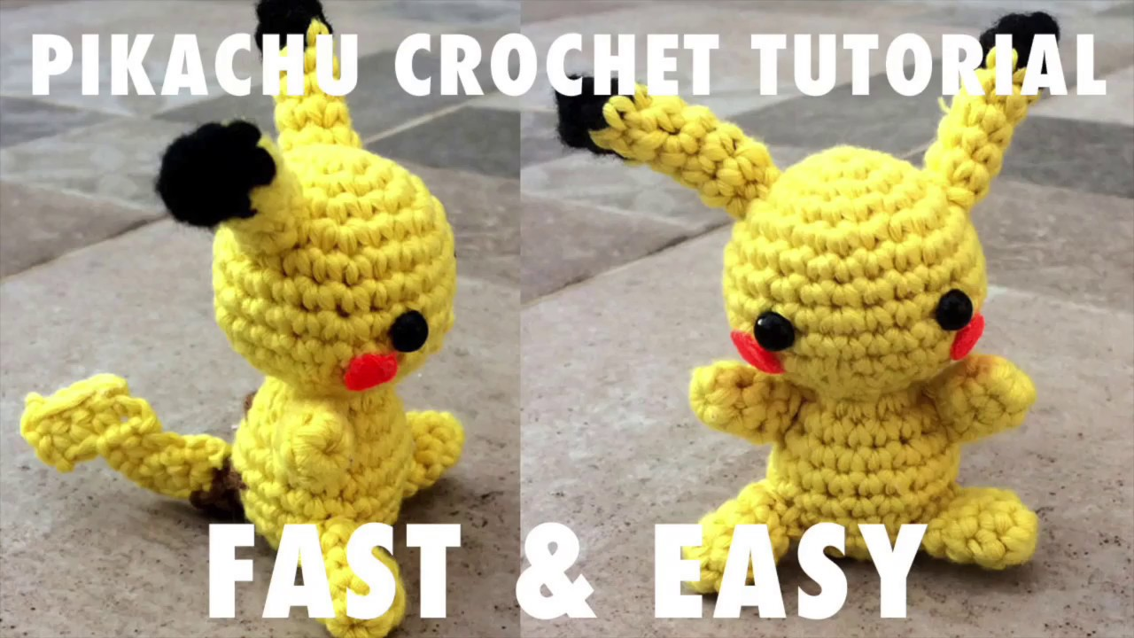 PATTERN CROCHET THE POKEMON GO. Materials: 1.... | Pikachu crochet ... | 720x1280