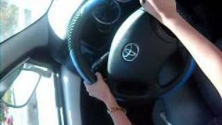 drivinf izar's car