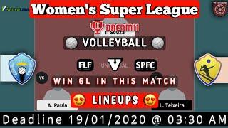 FLF vs FPFC Dream11 Volleyball Match | Teams & News | Volleyball Lineups | GL Rank1 News |