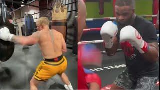 Jake Paul's Punch Vs Tyron Woodley's Punch