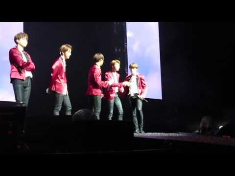 170526 BTS speaking English (part 2) in Wings tour Sydney