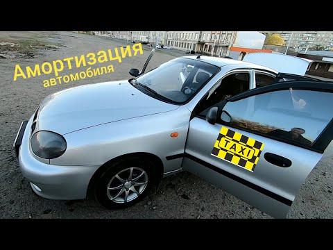 Амортизация автомобиля в такси.