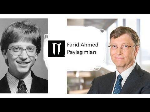 Bill Gates - Microsoft'un Kurucusu   Hakkında Her Şey