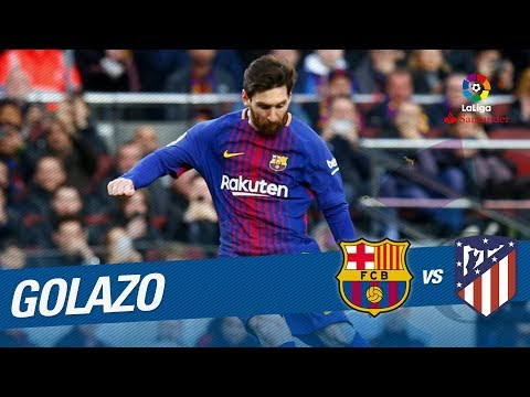 Golazo de Messi (1-0) FC Barcelona vs Atlético de Madrid