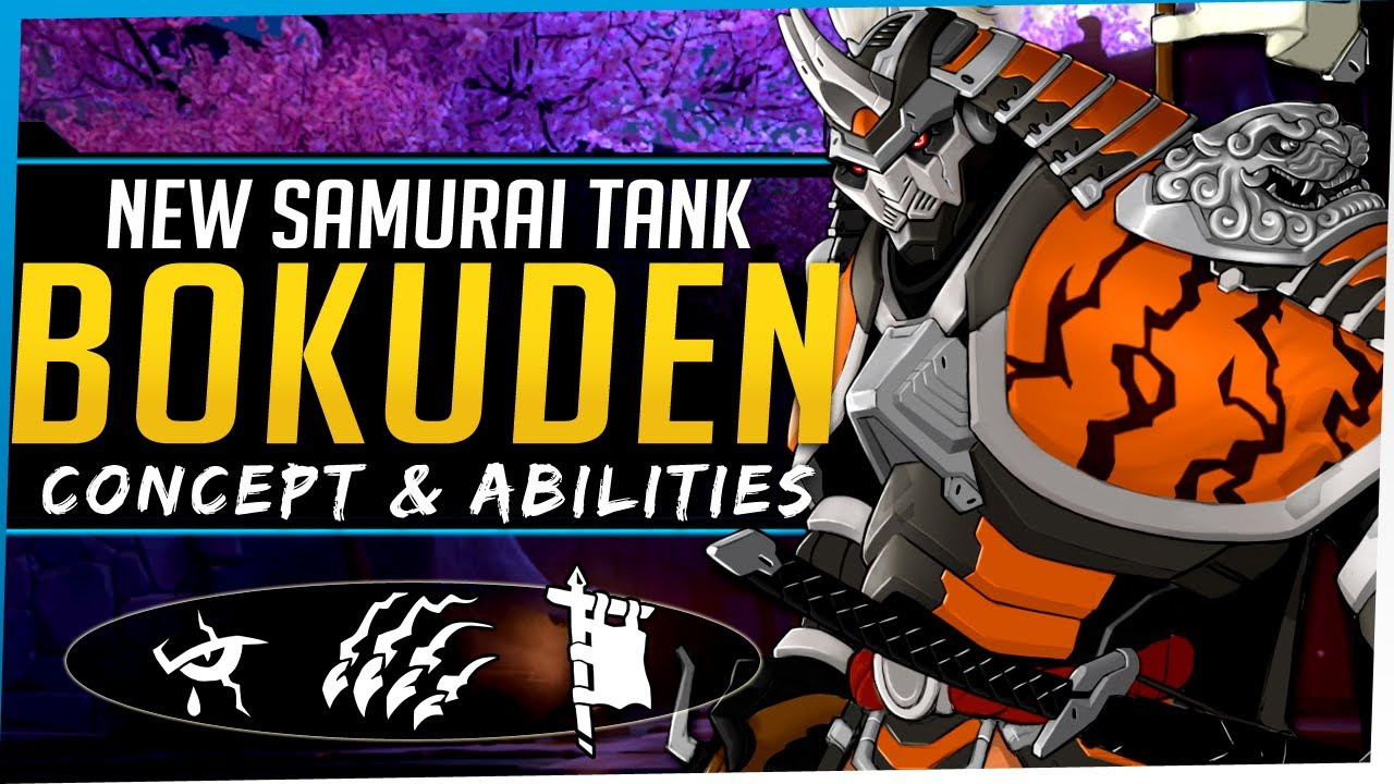 Download Overwatch NEW Tank Hero Bokuden - Concept, Lore, Abilities, and more!