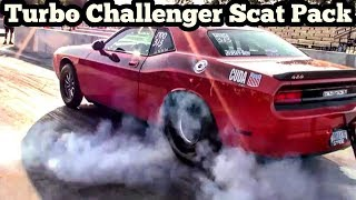 Turbo Dodge Challenger Scat Pack & Hellcat battle & Hollywood vs Silicon Valley