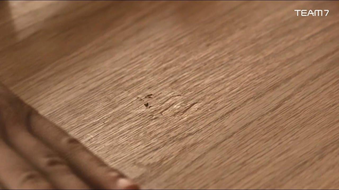 TEAM 7 | Reinigung und Pflege von Naturholz und anderen ...
