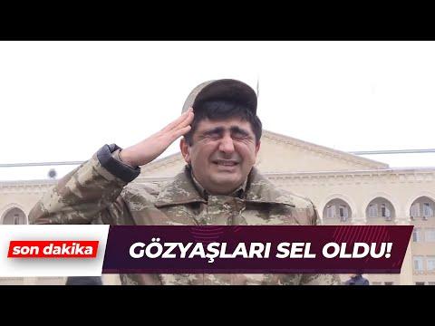 Azerbaycan'da şehitler için saygı duruşu   Son Dakika Haber