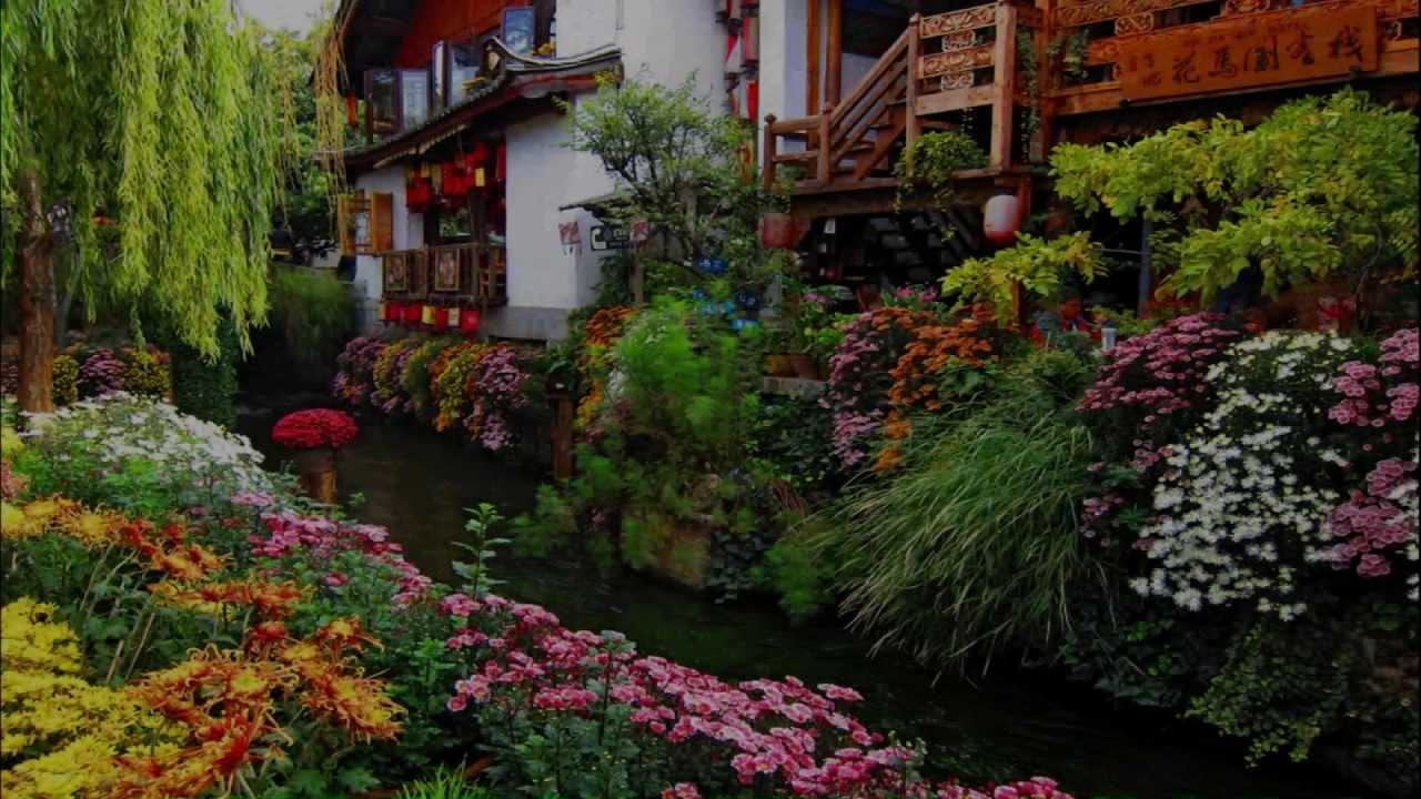Beautiful Garden Pictures Houses: Houses And Beautiful Gardens