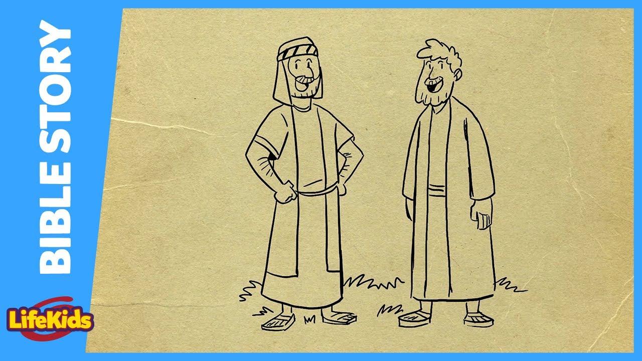 2 Brave Spies | Bible Story | LifeKids