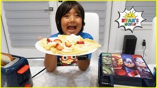 Download Avengers Superhero Waffle Maker DIY Challenge!! Mp3 and Videos