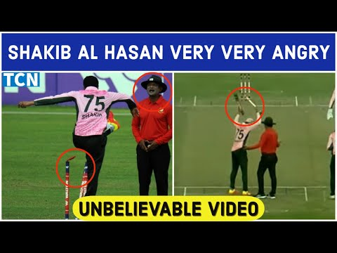 Shakib al hasan angry | Shakib al hasan fight umpire | Most angry moment ever in cricket