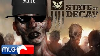 State of Decay – ZOMBIE SURVIVAL 101 – (SoD Funny Moments) [Xbox One Gameplay XB1]