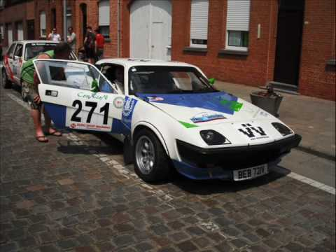 Triumph Tr7 V8 Ypres Historic Rally 2010 Youtube