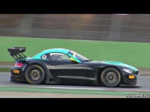 INSANE BMW Z4 V8 GT3 Sound on Track!