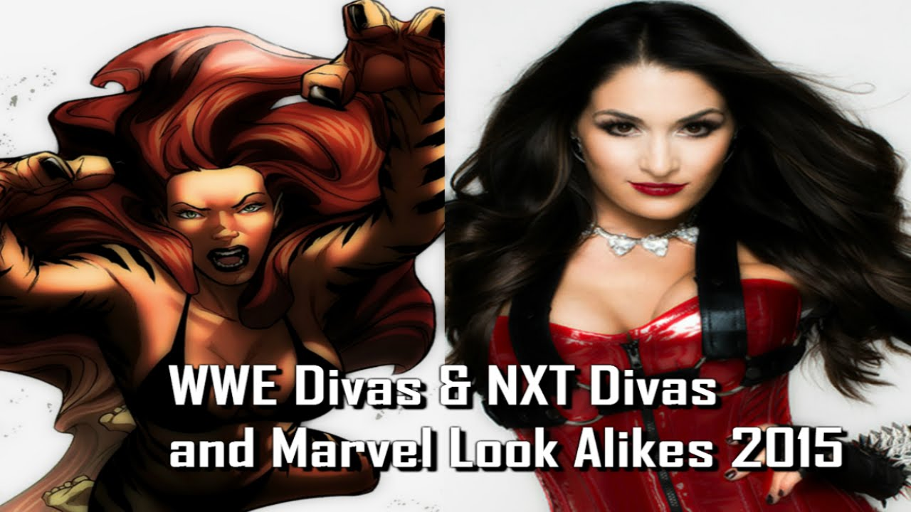 Wwe diva pornstar look alikes not