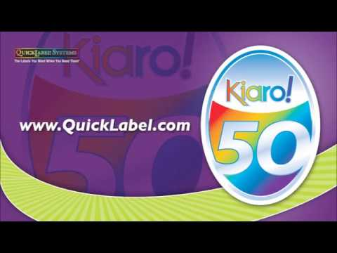 Quicklabel Systems Kiaro! 50 Color Label Printer | PT Artha