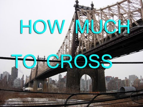 How Much To Cross The Bridges + Tunnels In NY And NJ In 2017!
