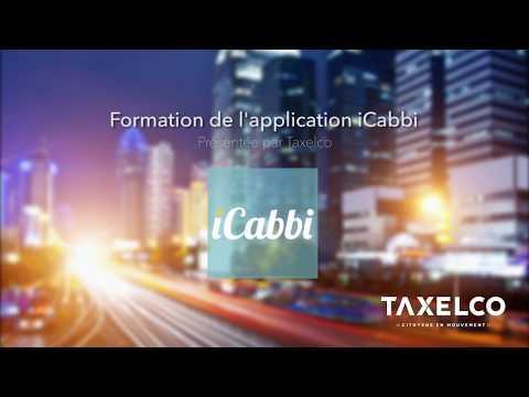 iCabbi : Démonstration de l'application chauffeur par Taxelco