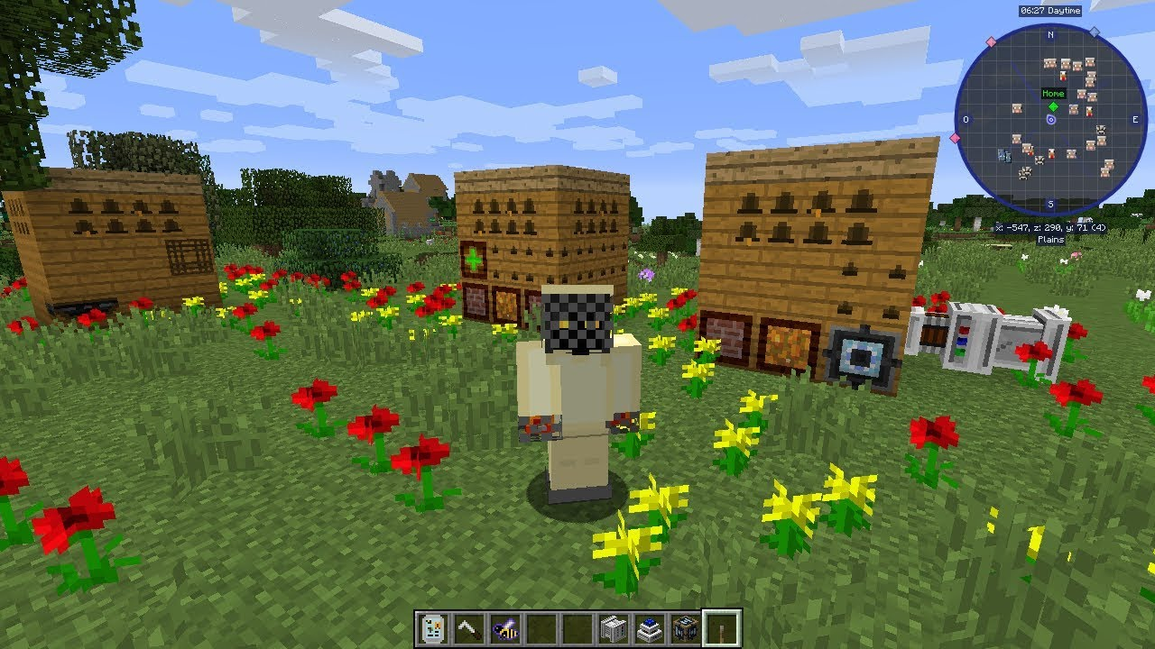 FORESTRY BINNIE S MAGICAL BEES MOD MINECRAFT 1 12 2 ALVEARY