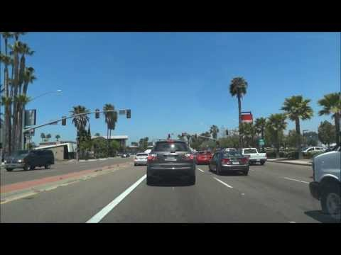 From Miramesa to San Diego Downtown and back / 05.2011/ HD