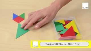 TimeTEX Tangram Kunststoff