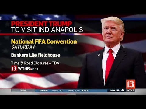 Trump coming to Indianapolis