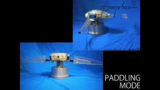 Glide Walker - multi functional underwater robot