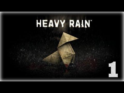 Смотреть прохождение игры Heavy Rain. Серия 1 - Счастливая семья.