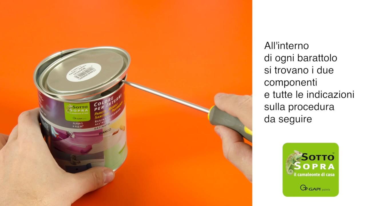 Dipingere Le Porte Di Casa verniciare laminato - formica - melaminico, senza carteggiare e senza fondo  - sottosopra