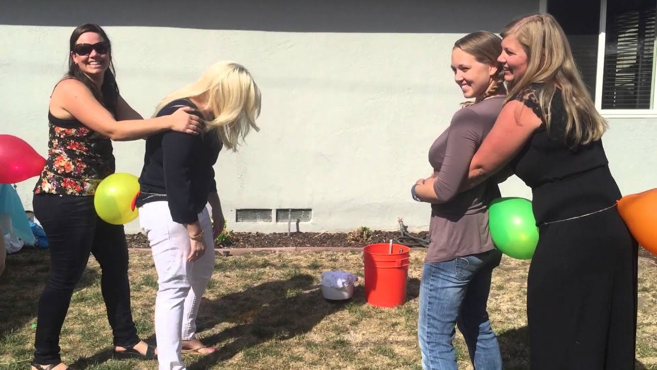 Baby Shower Balloon Game Youtube