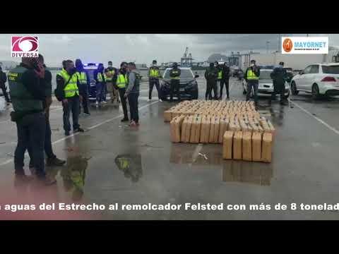Intervenidas más de 7 toneladas de hachís a bordo de un carguero en el Puerto de Algeciras