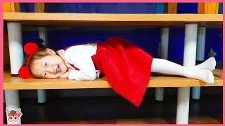 뽀로로 짜장면 키즈카페 숨바꼭질 놀이 Pororo Black Noodle Indoor Playground Hide and Seek Pretend Play for Kids